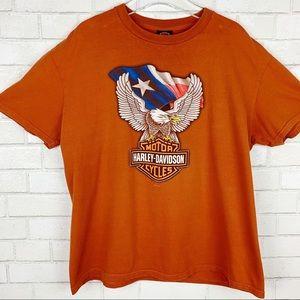 Harley Davidson 2011 Desperado McAllen Texas Tee